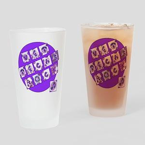 Vet Techs Rock Drinking Glass