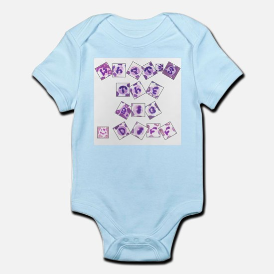 What's The Big Diff Infant Bodysuit