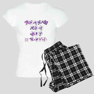 What's The Big Diff Women's Light Pajamas