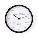 Figure skaters clock