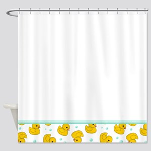 Rubber Ducky Shower Curtain