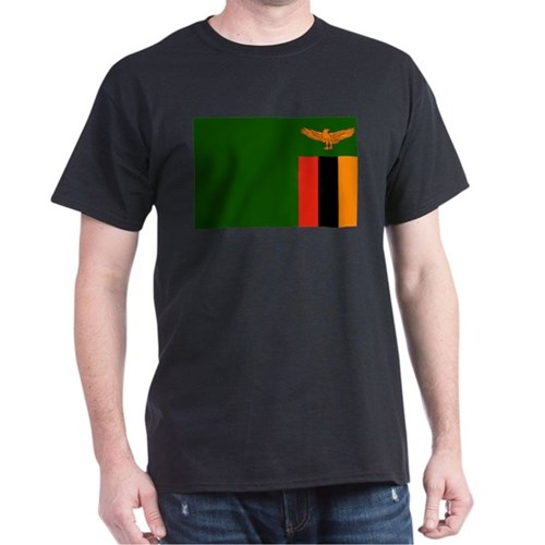 Zambia - National Flag - Pre-1966 T-Shirt