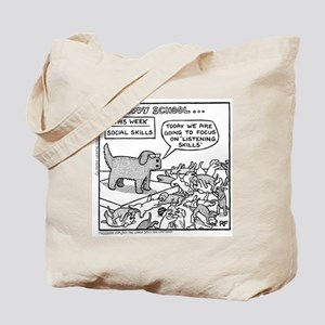 Puppy School - Listening Tote Bag