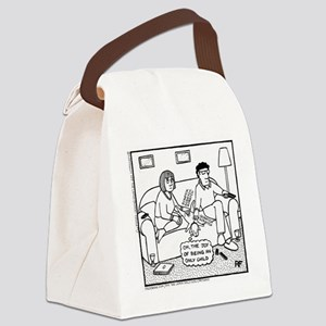 Joy Of Being An Only Child Canvas Lunch Bag