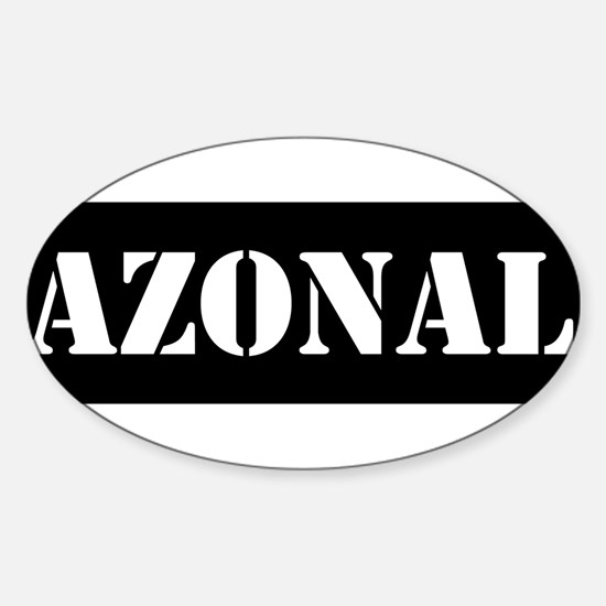 Azonal Sticker (Oval)
