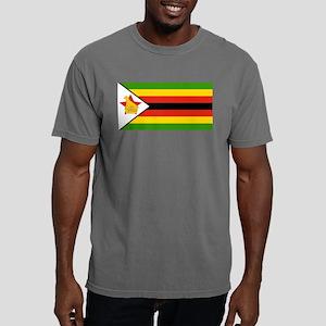 Zimbabwe Flag Mens Comfort Colors Shirt
