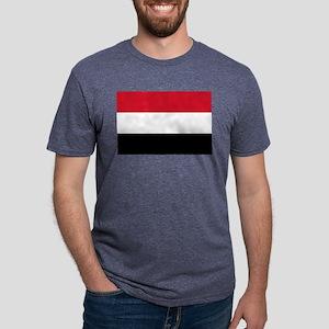 Yemen - National Flag Mens Tri-blend T-Shirt