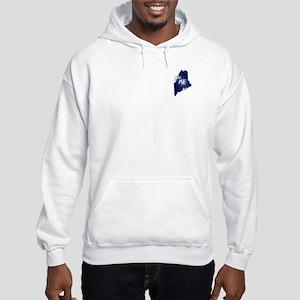 Ski ME Vintage Logo Hooded Sweatshirt