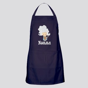 Nonna Cook Kitchen Gift Apron (dark)