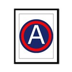 US Army Central SSI Framed Panel Print