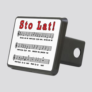 Sto Lat! Song Rectangular Hitch Cover