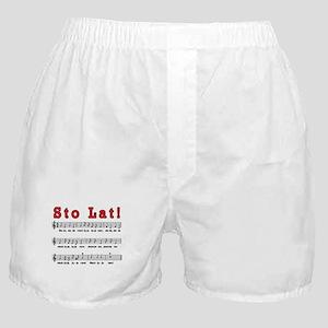 Sto Lat! Song Boxer Shorts