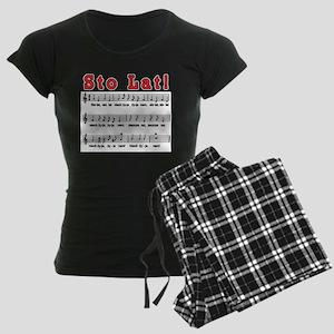 Sto Lat! Song Women's Dark Pajamas