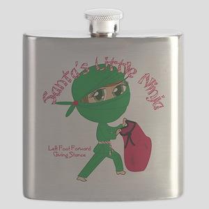 Santas Little Ninja Flask