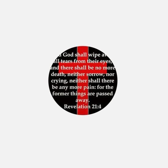 Revelation 21-4 Mini Button