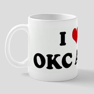 I Love OKC AFO Mug