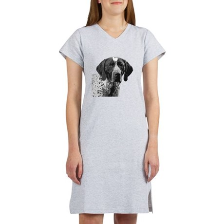 German Shorthaired Pointer Women's Nightshirt
