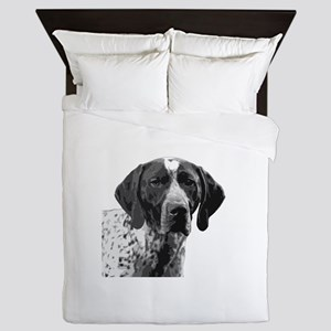 German Shorthaired Pointer Queen Duvet