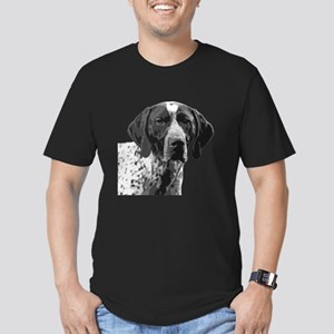 German Shorthaired Pointer Men's Fitted T-Shirt (d