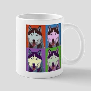Husky Pop Art Mug