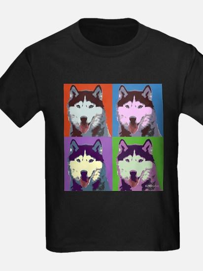 Husky Pop Art T