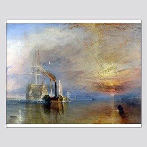 William Turner The Fighting Temeraire Small Poster
