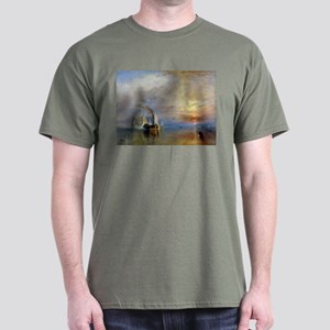 William Turner The Fighting Temeraire Dark T-Shirt