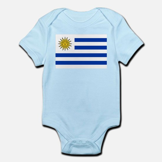 Uruguay - National Flag Infant Bodysuit