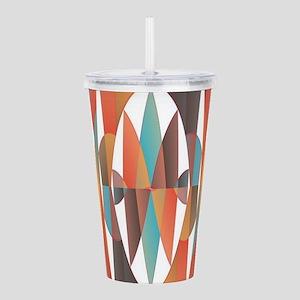 Colorful geometric abs Acrylic Double-wall Tumbler