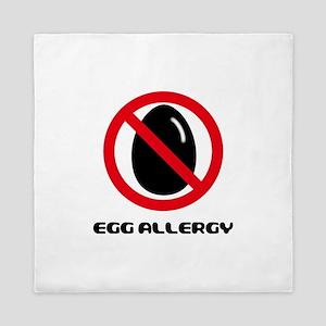 Egg Allergy Queen Duvet