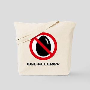 Egg Allergy Tote Bag