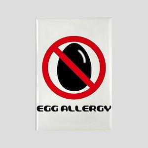 Egg Allergy Rectangle Magnet