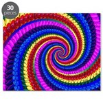 Psychedelic Rainbow Puzzle
