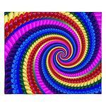 Psychedelic Rainbow King Duvet