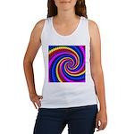 Psychedelic Rainbow Women's Tank Top