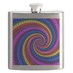 Psychedelic Rainbow Flask
