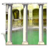 Greek roman Shower Curtains