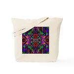 Rainbow Mandala Pattern Tote Bag