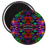 Rainbow Mandala Pattern Magnet