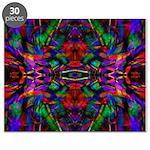 Rainbow Mandala Pattern Puzzle