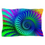 Psychedelic Rainbow Pattern Pillow Case