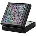 Rainbow Fractal Art Keepsake Box