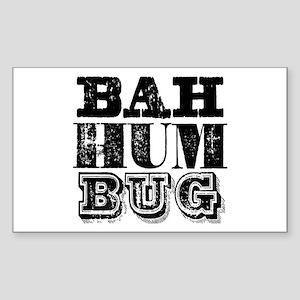 Bah Humbug Sticker (Rectangle)