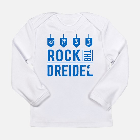 rock_dreidel_baby Long Sleeve T-Shirt