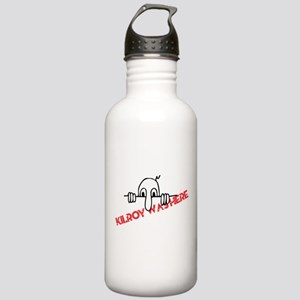 Kilroy Was Here Stainless Water Bottle 1.0L