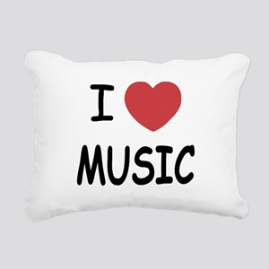 MUSIC01 Rectangular Canvas Pillow