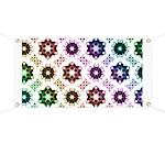 Rainbow Alien Eye Fractal Art Pattern Banner