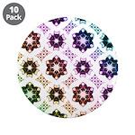 Rainbow Alien Eye Fractal Art Pattern 3.5