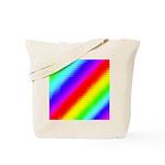 Rainbow Stripes Pattern Tote Bag