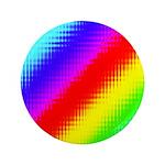 Rainbow Stripes Pattern 3.5